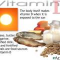Витамин D3. Активные компоненты кремов и косметитики Тилайн