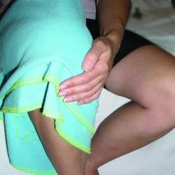 Эфтипелоид с хондроэтином для суставов. Шаг 3: оборачиваем шерстяной тканью